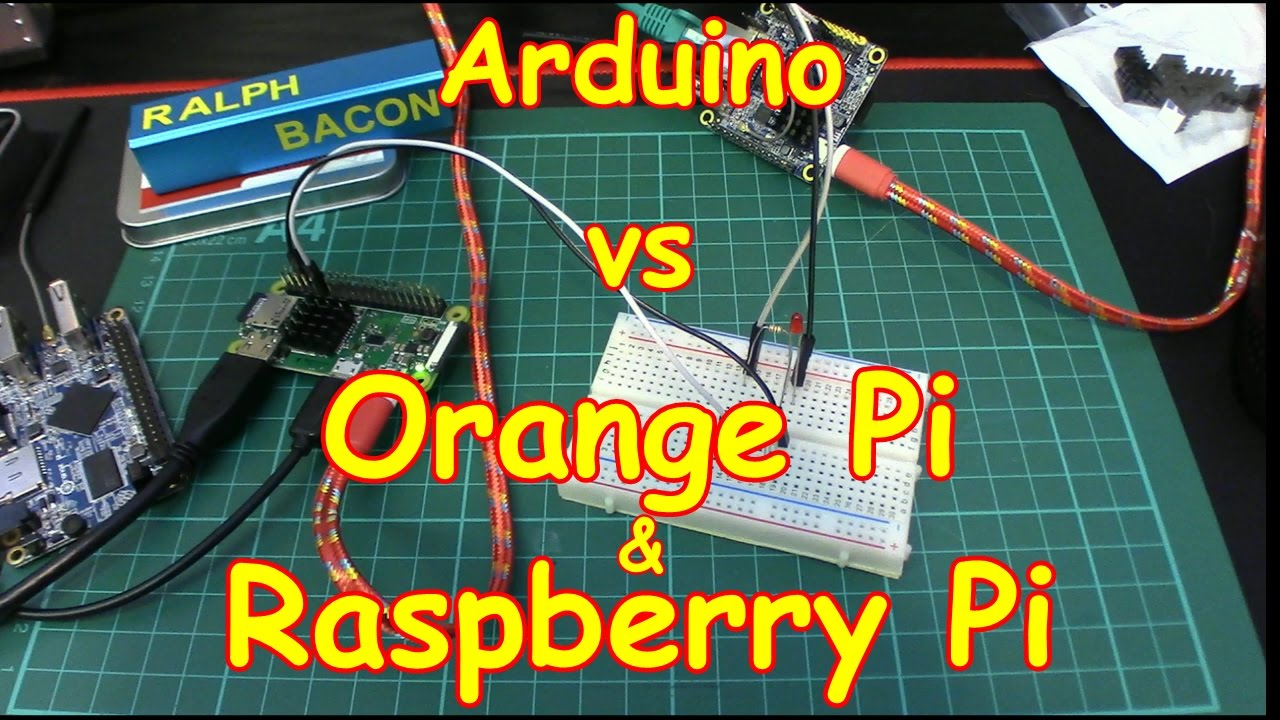 Arduino vs orange raspberry pi zero 🥧 youtube