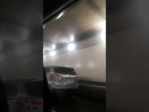 Whale-like tunnel underwater to Manhattan New York
