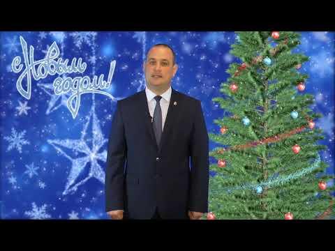 2018 Феодосия - Новогоднее поздравление Глава муниципального образования Владимира Титаренко