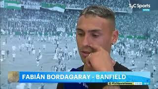 Bordagaray fue presentado en Banfield: