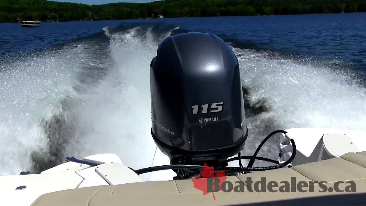Yamaha f115 outboard motor 2014 youtube sciox Image collections