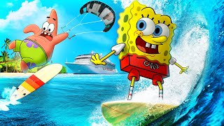 Spongebob In Real Life 7 - VACATION!