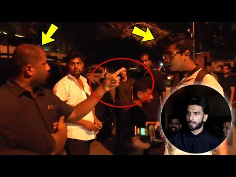BIG FIGHT Between Media Photographers And Bodyguards Due To Ranveer Singh