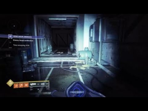 Destiny 2 How To Disable Floor Code In Zero Hour Heroic Youtube