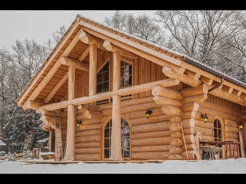 Naturstammhaus tv blockhaus in bad t lz youtube for Blockhaus bauen