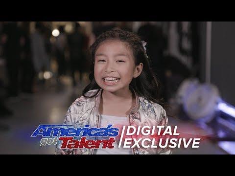 Elimination Interview: Celine Tam Thanks Her Fans - America's Got Talent 2017