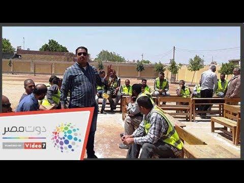عاملو محطة كهرباء بنى سويف يتوافدون على لجنة الاستفتاء  - نشر قبل 20 ساعة