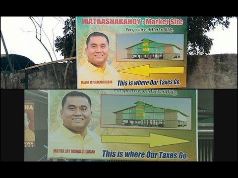 Alkalde sa 'epic fail' na tarp sa Batangas, nakapanayam ng News5