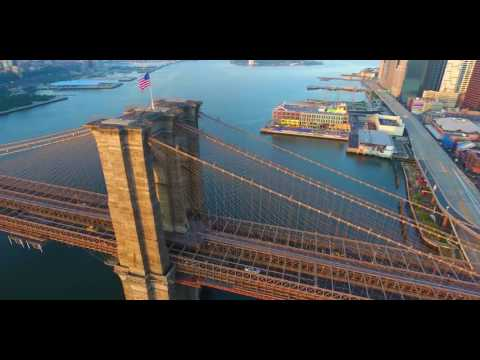 I ❤️ NY!! 4K Drone Flight From Brooklyn to Manhattan (Almost hit the bridge )