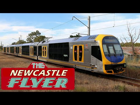 Sydney To Newcastle By Train - The Newcastle Flyer (FULL RIDE)