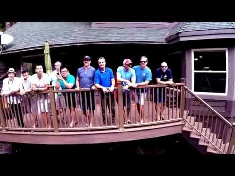 Drone Selfie EO Wolfpack 2014 Retreat at Lake Arrowhead, CA