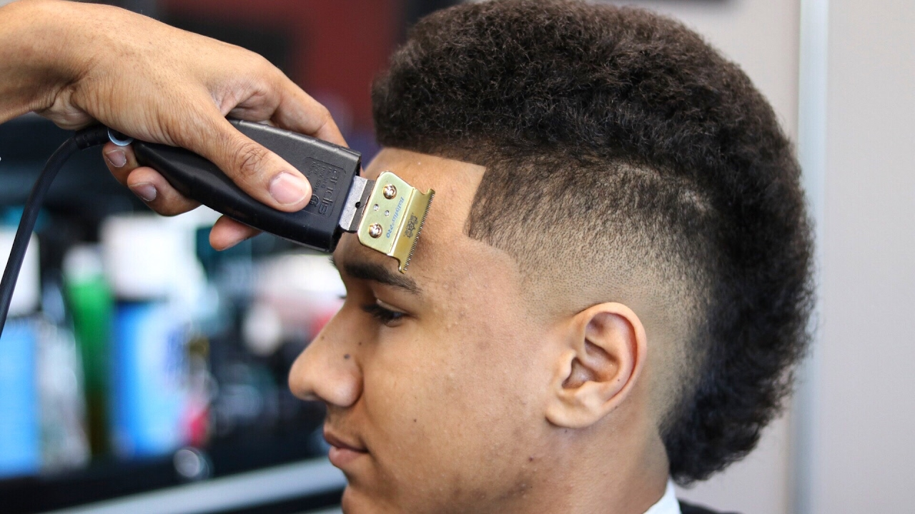 Haircut Tutorial Mohawk Step By Step Shape Up Youtube