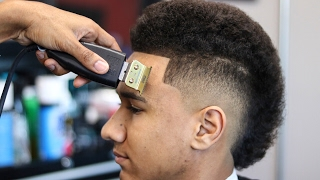 HAIRCUT TUTORIAL: MOHAWK | STEP BY STEP | SHAPE UP