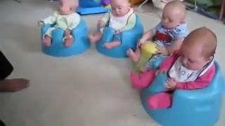 Смешные дети Уроки музыки на горшках333