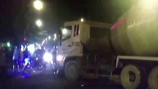 Xe trộn bê tông của công ty lê phan gây tai nạn khiến một người tử vong và 3 người bị thương