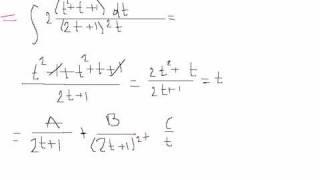 Подстановка Эйлера 1. Решение интеграла