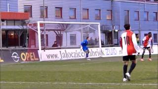 Kay Hilverink, wedstrijd 22-03-2016, Feyenoord O16 -  ADO Den Haag O16