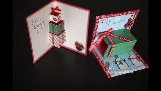 Tarjetas Para Navidad muy faciles de hacer y originales / ideas y manualidades