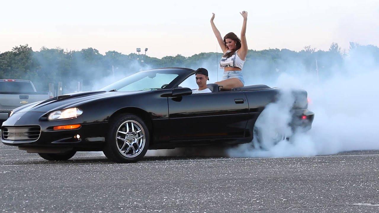 Car Burnout Live Wallpaper Awesome Camaro Ss Burnout Youtube