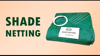 Pepperagro : How to stitch Shade Net or Green Net