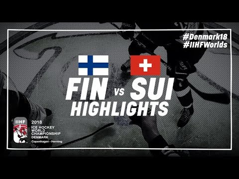 Game Highlights: Finland vs Switzerland May 17 2018 | #IIHFWorlds 2018
