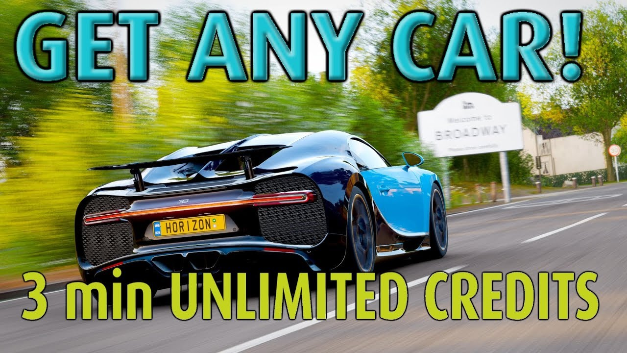 FORZA HORIZON 4 UNLIMITED CREDITS IN 3 min RACE! (SAFE GLITCH)