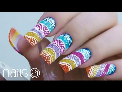 Curso nail art nails 21