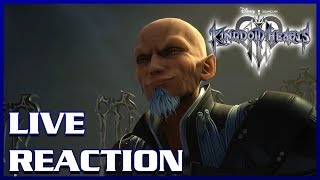 Live Reaction - Kingdom Hearts III - 2-Minute Trailer