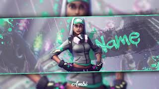 Free Twitter Header (Fortnite) │ By Ambi