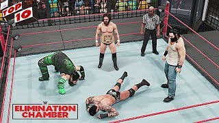 WWE Top 10 Elimination Chamber 2019 Predictions! (WWE 2K19)