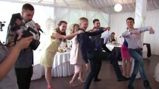 Стильная свадьба Антона и Екатерины на берегу  озера Шарташ ! Ведущий Евгений Дегтярёв