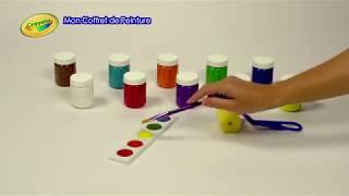 Crayola - Mon Coffret de peinture