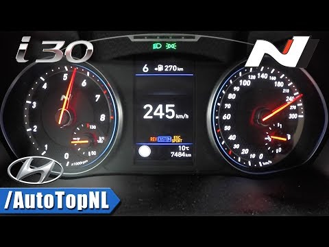 Hyundai i30N 275HP ACCELERATION & SPEED 0-245km/h by AutoTopNL