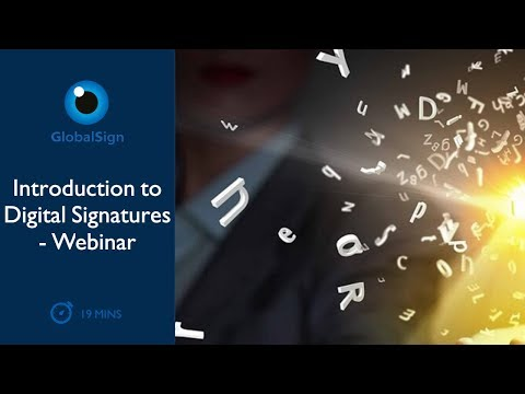 Introduction to Digital Signatures | Webinar