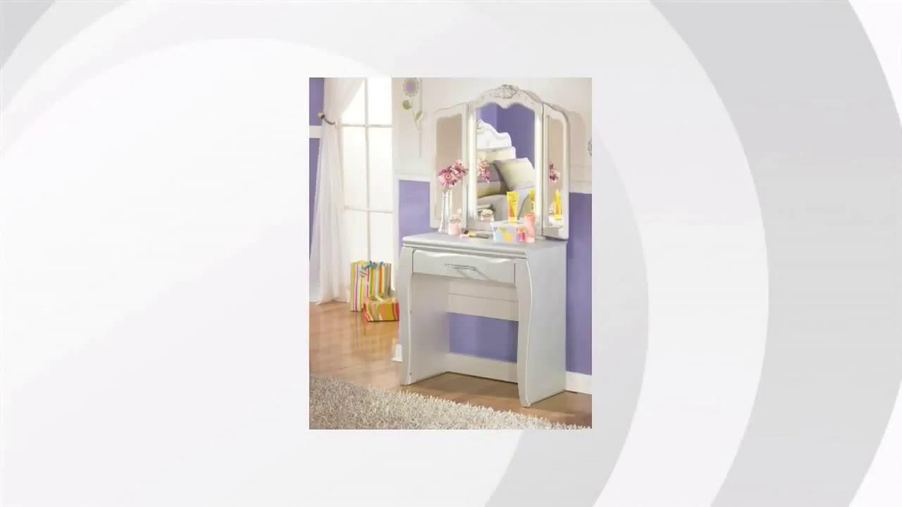 Zarollina Vanity And Mirror | Ashley Furniture HomeStore Features Video