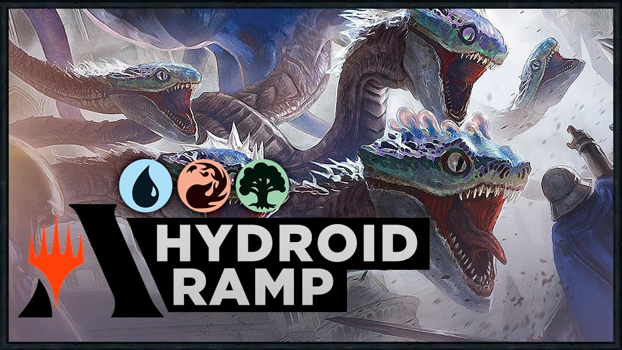 Hydroid Krasis Temur Ramp Ravnica Allegiance Standard Deck Mtg Arena Youtube Hydroid krasis enters the battlefield with x +1/+1 counters on it. hydroid krasis temur ramp ravnica allegiance standard deck mtg arena