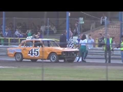 Historic Stock Cars Southern Rumble Arlington 17/08/2016 Heat 1