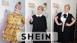 FALL PLUS SIZE SHEIN TRY ON HAUL