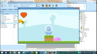 Tutorial Construct 2 - Membuat Game Platformer Part 2