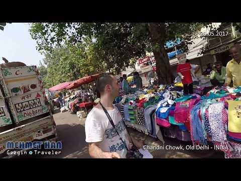 Chandni Chowk Market in Delhi - INDIA