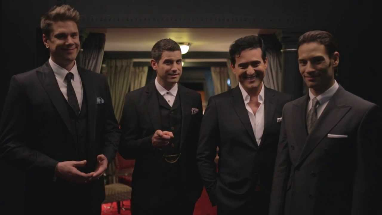 Il divo announce sixth studio album 39 a musical affair 39 youtube - Album il divo ...