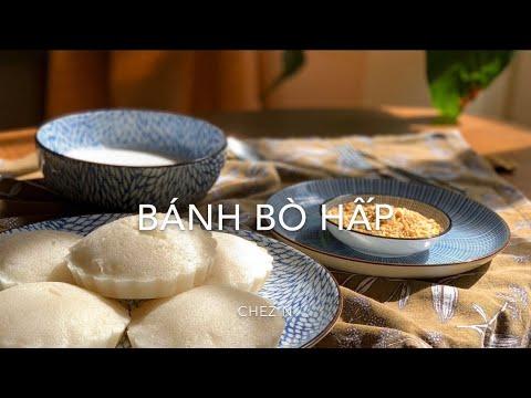 BÁNH BÒ HẤP NƯỚC DỪA    chez N #banhbohap #nuocdua #chezN #onhalambanh #confinementparis