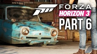 Forza Horizon 3 Gameplay Walkthrough Part 6 - TWO BARN FINDS & CRAZY JUMP (Full Game)