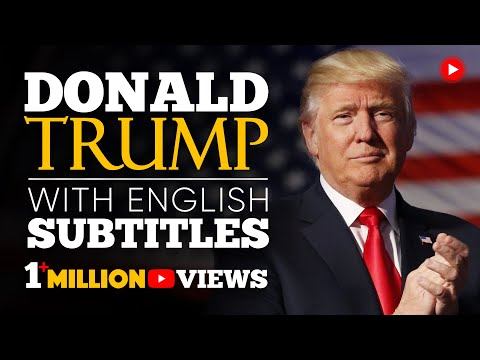ENGLISH SPEECH | DONALD TRUMP: Never, Ever Give Up (English Subtitles)