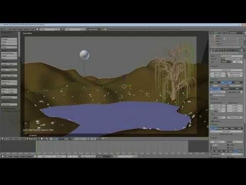 Blender 2.68 Tutorial - Moon Over Water Scene