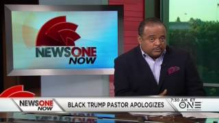 Pastor Mark Burns: I Truly Apologize For The Offensive Blackface Cartoon Of Hillary Clinton
