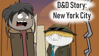 This is an animated D&D Story from when our characters fell through...