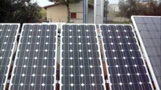 видео Автономное солнечное электроснабжение дома