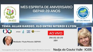 Allan Kardec - Elo entre Niterói e Lyon - 03/10/2020