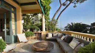 Villa pieds dans l'eau de luxe à vendre Cap d'Antibes Immobilier de Luxe Cote d'Azur.mp4